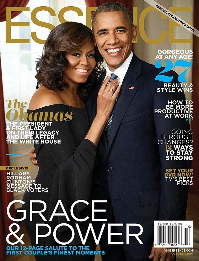 Hình ảnh xuất hiện trên trang bìa ấn bản tháng 10 của tạp chí Essence.