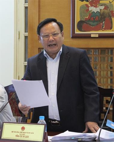 Ông Nguyễn Văn Tuấn - Tổng Cục trưởng Tổng cục Du lịch Việt Nam (Ảnh: Nguyễn Dương)