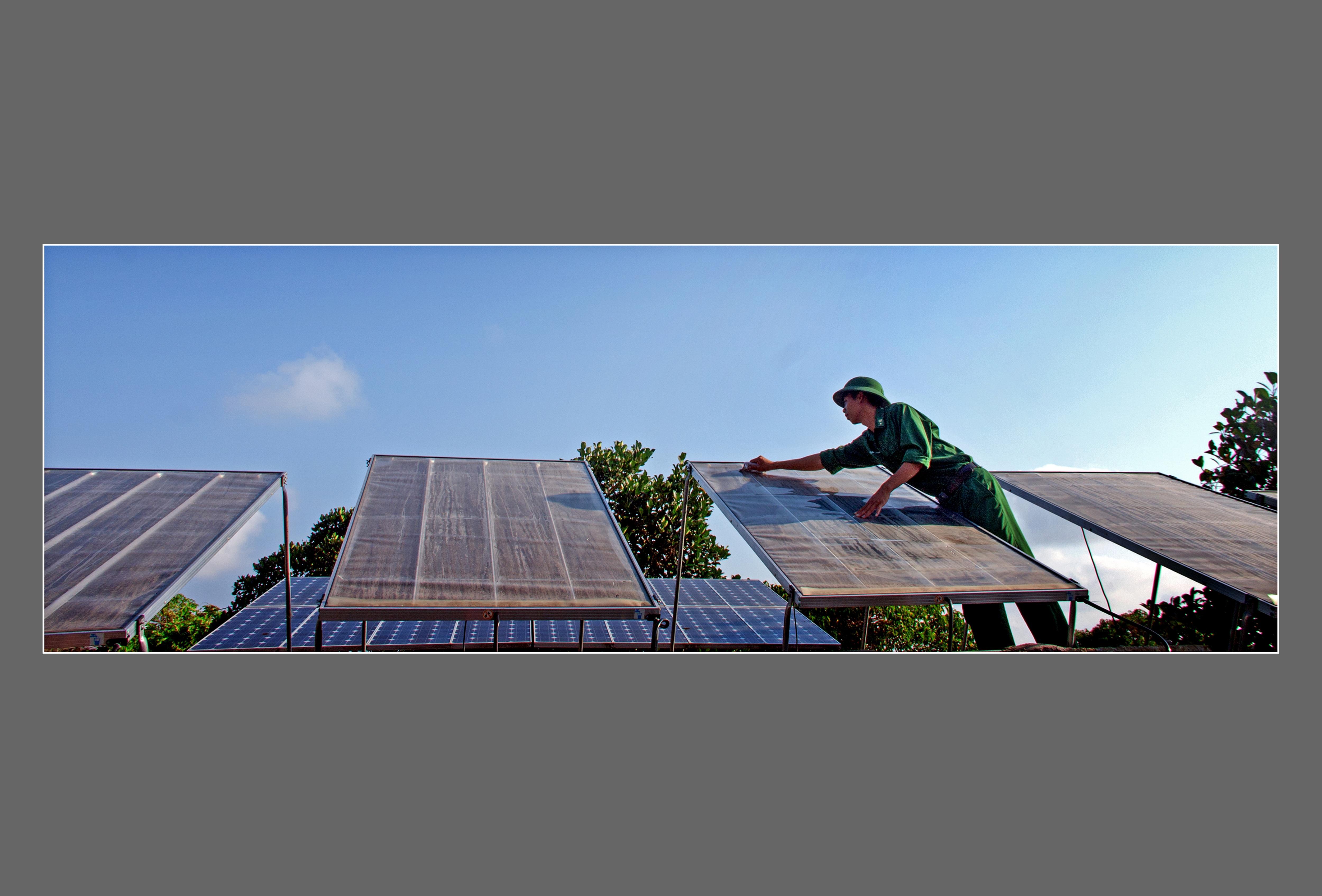 Mô hình đầu tư thí điểm hệ thống lọc nước biển thành nước ngọt tại đảo Hòn Chuối
