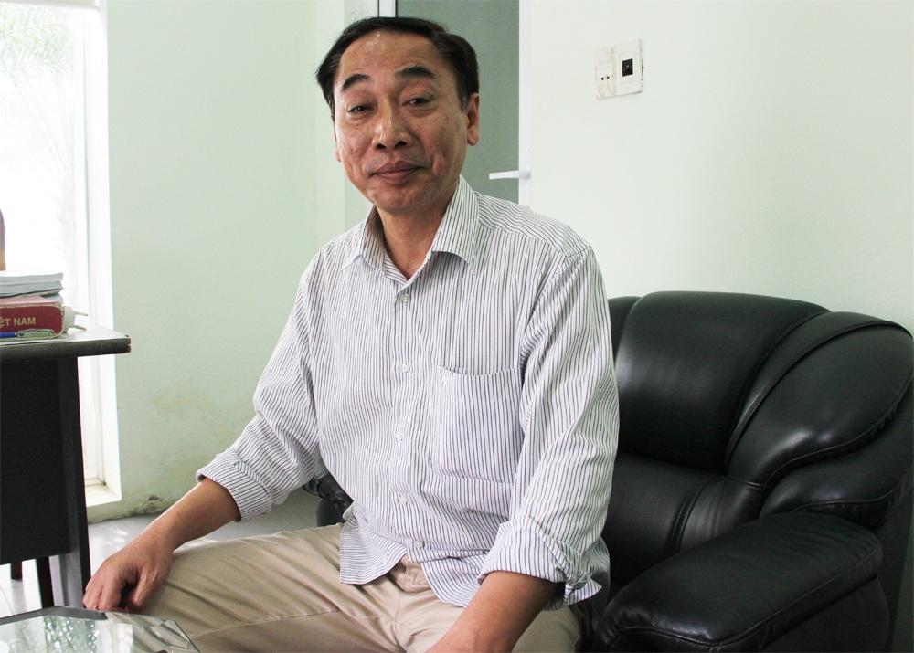 Bác sỹ Nguyễn Trọng Hiền trao đổi với PV Dân trí