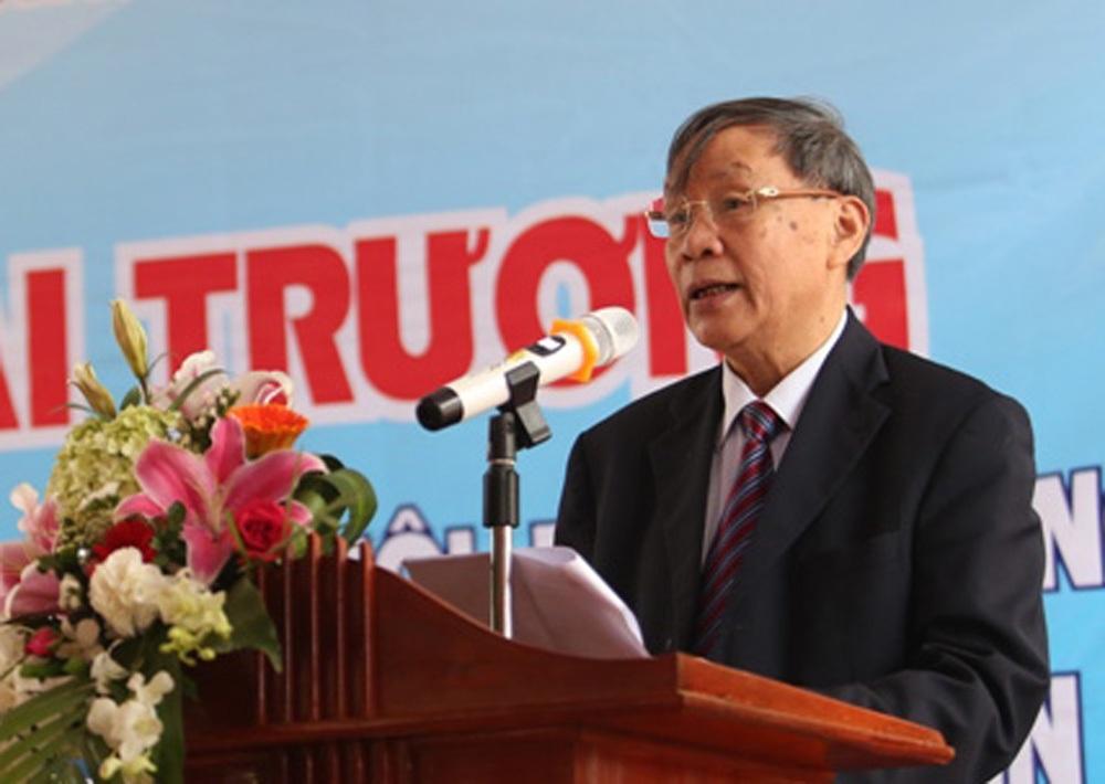 Thượng tướng Nguyễn Văn Rinh phát biểu tại Lễ khai trương...
