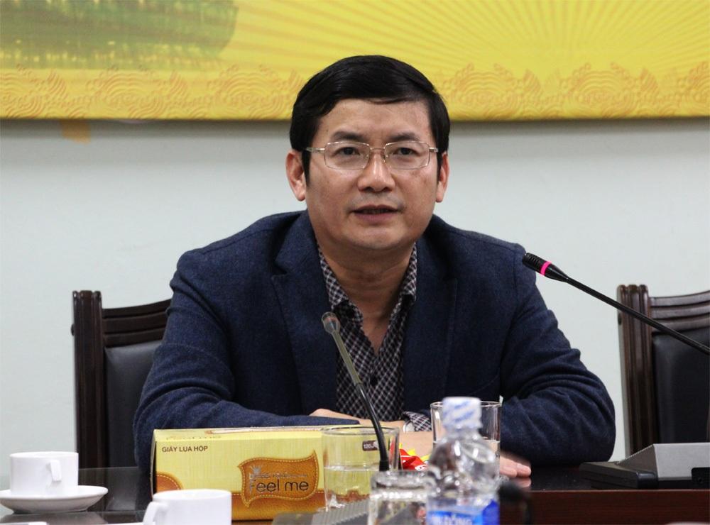 Ông Trần Tiến Dũng - PCT UBND tỉnh Quảng Bình chia sẻ: Sự trở lại của Phật Ngọc hòa bình thế giới lần 2 tại Quảng Bình là vinh dự rất lớn của tỉnh.