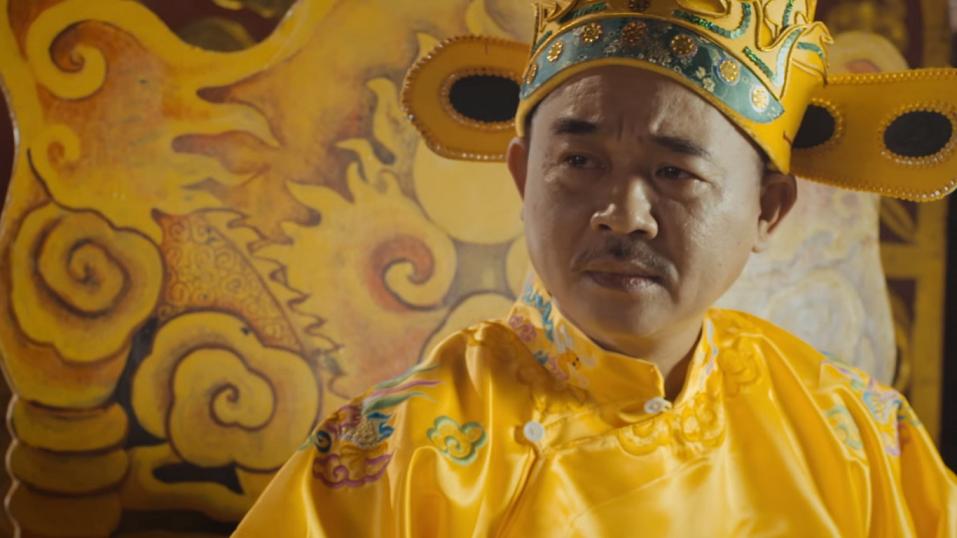 Nhà vua thẳng thừng từ chối món quà (cảnh trong phim)