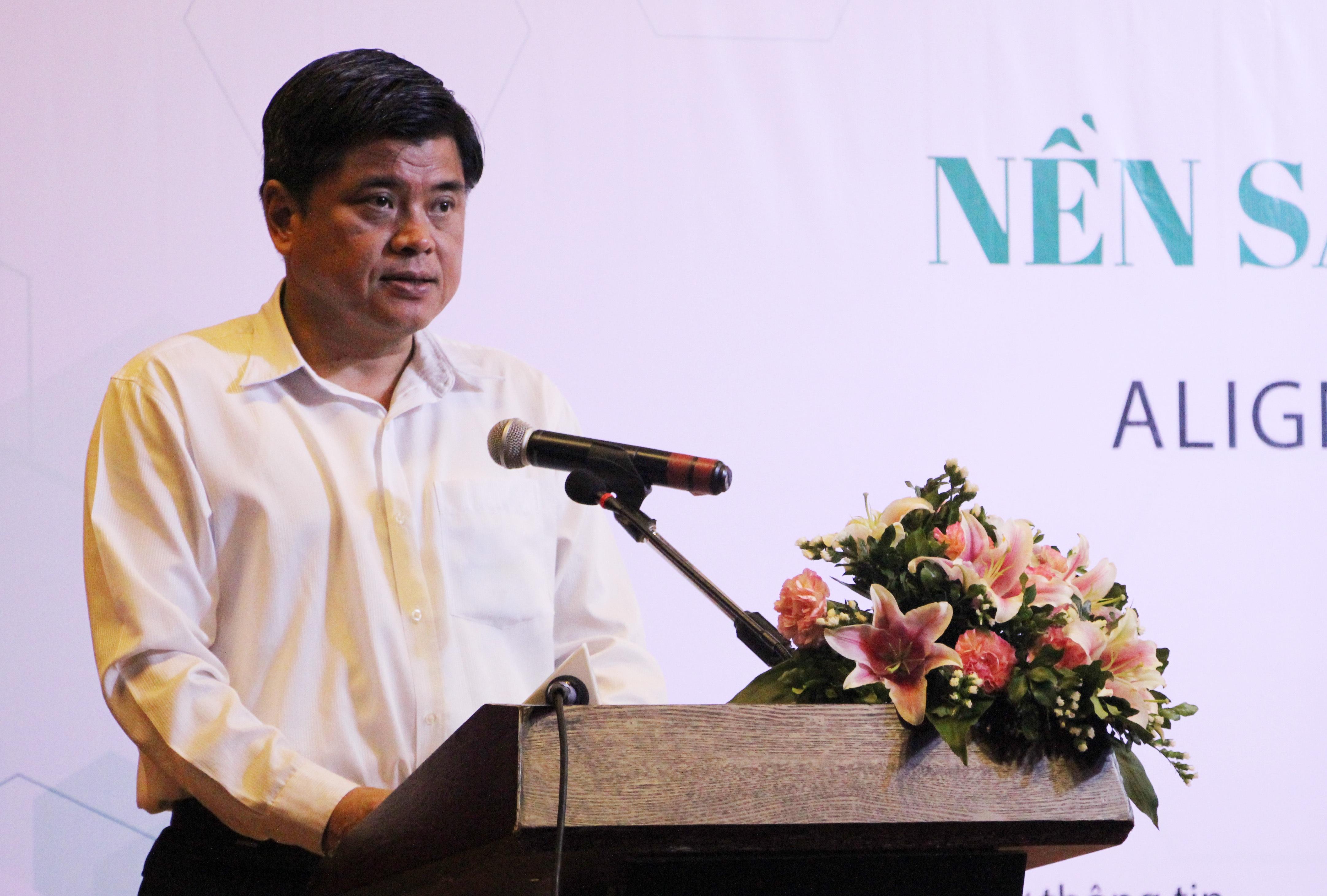 Thứ trưởng Trần Thanh Nam phát biểu tại Hội thảo. (Ảnh: Nguyễn Dương)