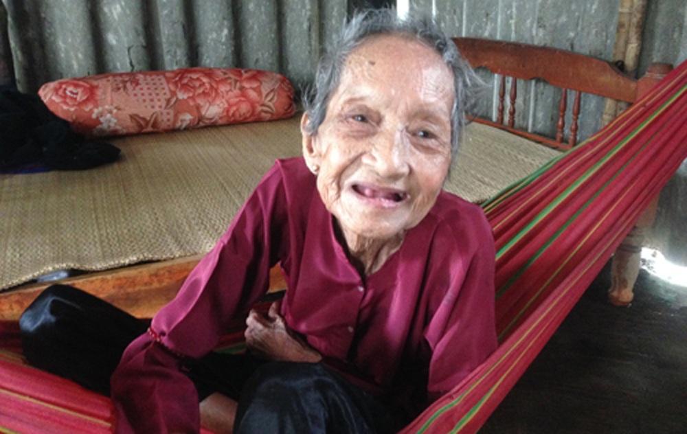 Cụ bà Nguyễn Thị Trù vừa qua đời ở tuổi 123.
