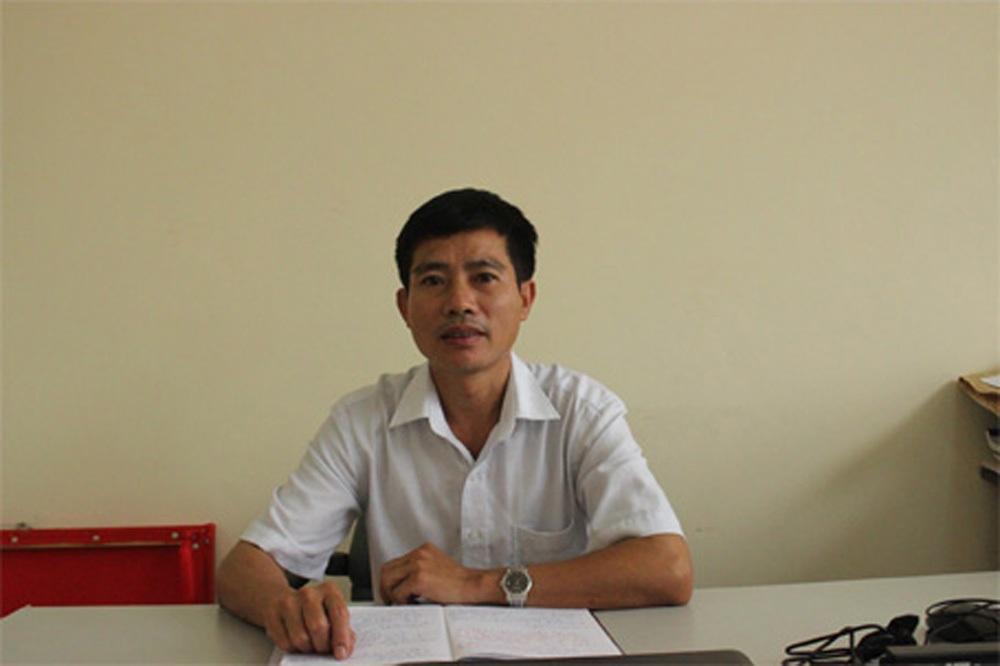 Tiến sĩ Đặng Văn Hà trao đổi với PV Dân trí.