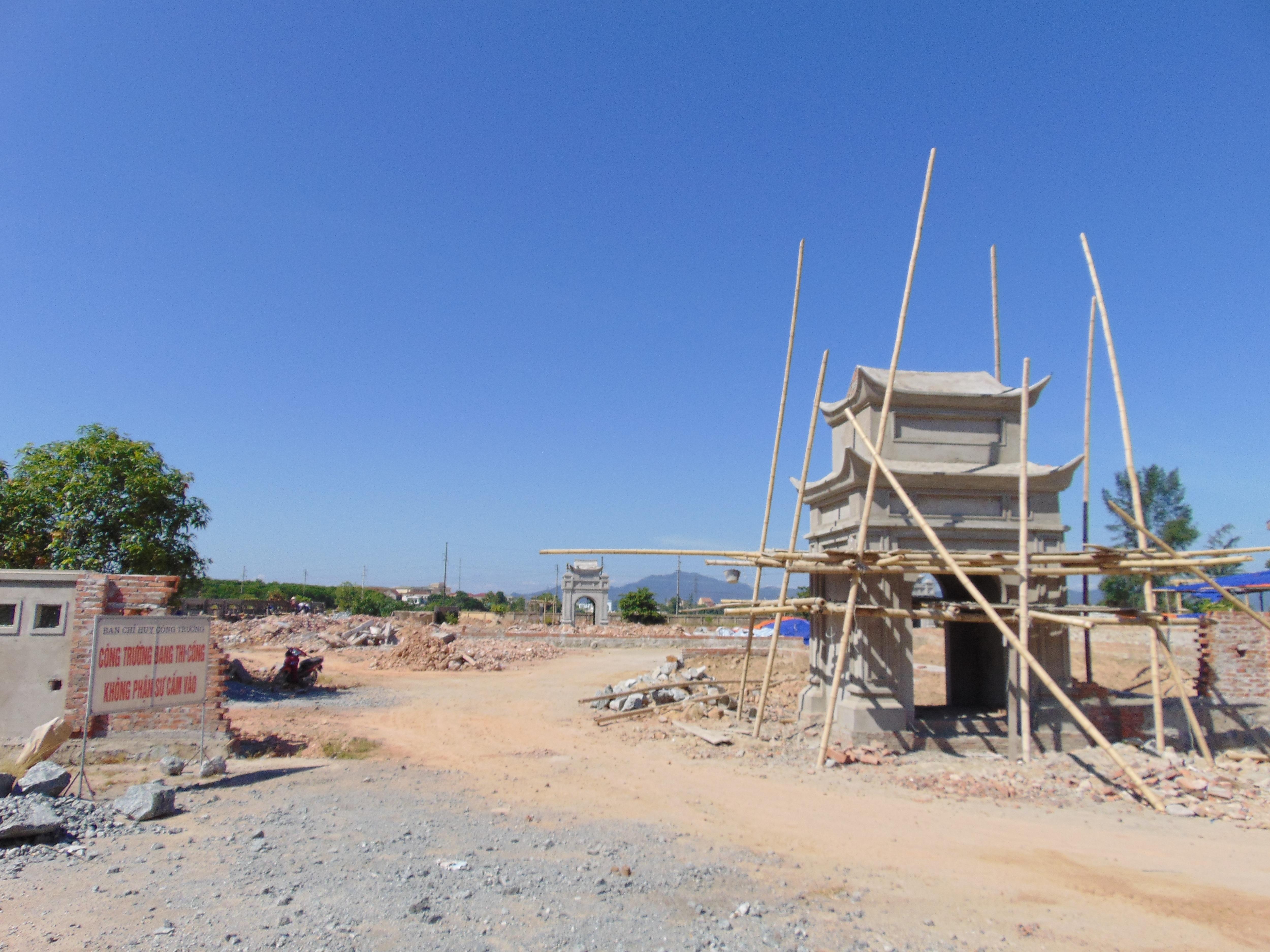 Công trình Văn Miếu gần 80 tỷ đồng xây xong không biết thờ ai ?! - 1