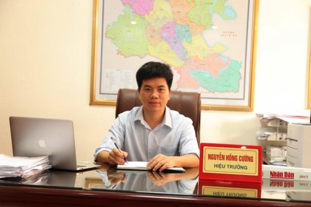 Ông Nguyễn Hồng Cường - Hiệu trưởng trường THPT Phan Đình Phùng