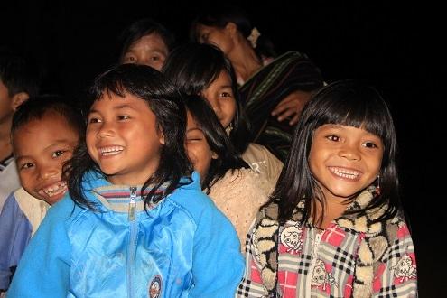 Trẻ em các dân tộc tại Tây Nguyên