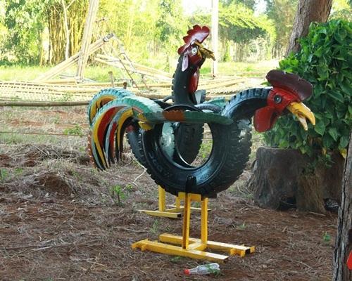 Mô hình đàn gà