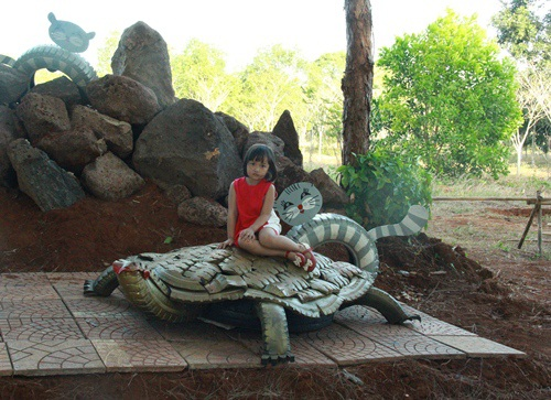 Mô hình con rùa
