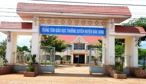 Trung tâm GDTX huyện Đắk Song nơi xảy ra hàng loạt sai phạm làm giả học bạ cho học viên
