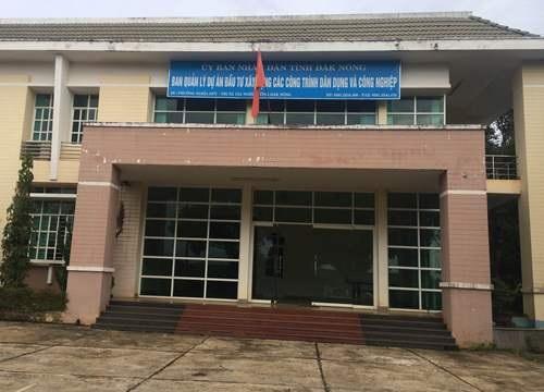 Ban QLDA đầu tư xây dựng các công trình dân dụng và công nghiệp tỉnh Đắk Nông nơi ông Điệp đang công tác