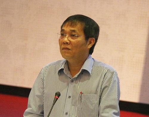 Ông Phạm Lương Sơn - Phó Tổng Giám đốc BHXH Việt Nam phát biểu tại hội nghị
