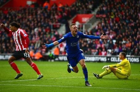 Jamie Vardy chạy nhanh nhất Premier League mùa này