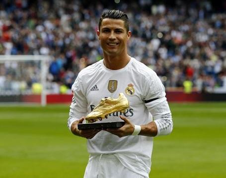 C.Ronaldo chỉ là VĐV có giá trị thương hiệu cao thứ 8 thế giới