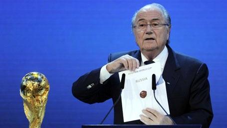 Sepp Blatter tiết lộ rằng Nga đã được dàn xếp để đăng cai World Cup