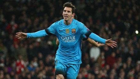 Messi, đơn giản là không thể cản phá