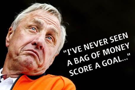 Những phát ngôn để đời của huyền thoại Johan Cruyff - 2