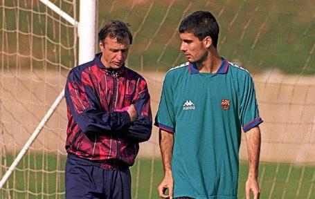 HLV Pep Guardiola mãi biết ơn Johan Cruyff
