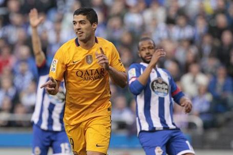Luis Suarez lập kỷ lục sau màn trình diễn chói sáng trước Deportivo