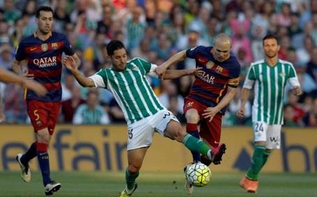 Barcelona thường xuyên bị đối thủ vào bóng ác ý