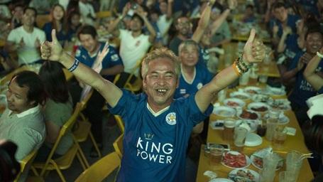"""Người dân Thái Lan """"phát cuồng"""" vì chức vô địch của Leicester City - 8"""