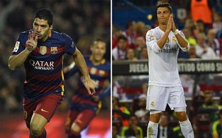 C.Ronaldo khó lòng bắt kịp Suarez