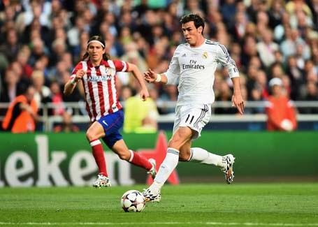 Gareth Bale - Filipe Luis