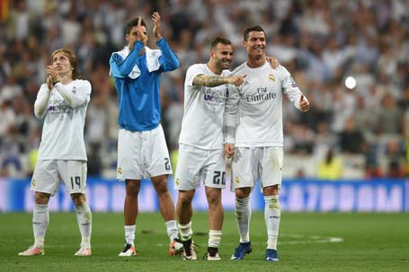 Real Madrid thưởng lớn nếu giành chức vô địch
