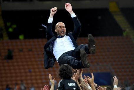 HLV Zidane thực sự là người hùng của Real Madrid