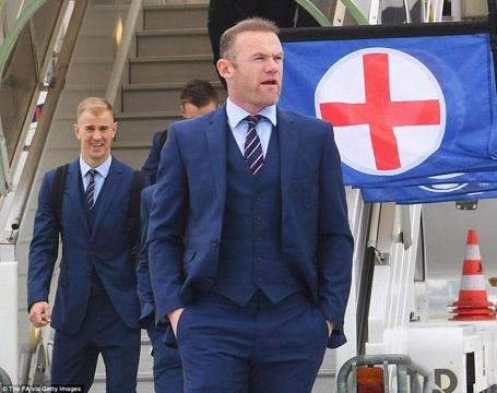 Wayne Rooney sẽ đeo băng đội trưởng đội tuyển Anh ở Euro 2016