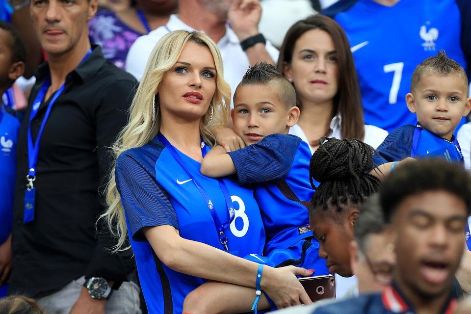 Ludivine Payet, vợ của tiền vệ Dimitri Payet