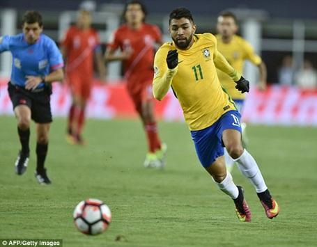 Brazil bị loại khỏi Copa America sau thất bại trước Peru