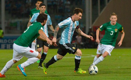 Argentina sẽ đè bẹp Bolivia?