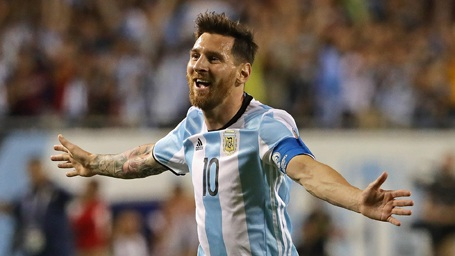Messi tỏa sáng rực rỡ ở trận đấu với Panama