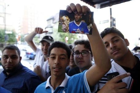 Nhiều CĐV thần tượng Zidane