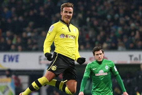 Mario Gotze chính thức trở lại Dortmund