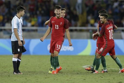 Olympic Argentina thúc thủ trước Bồ Đào Nha