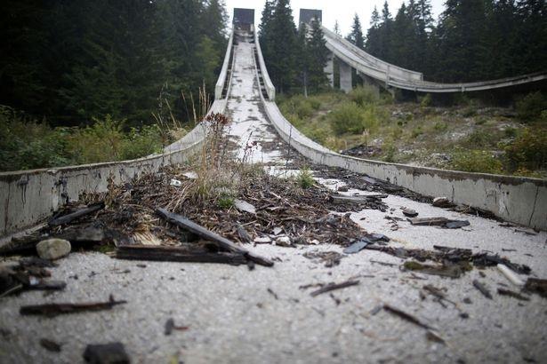 Địa điểm diễn ra môn trượt tuyết ở Sarajevo 1984