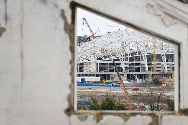 SVĐ Trung tâm đã không được sử dụng sau Olympic mùa Đông Socchi 2014