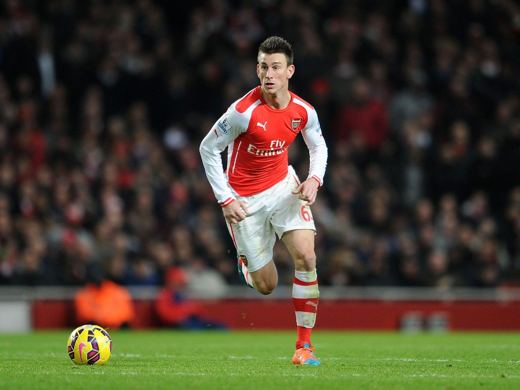 Trung vệ: Koscielny đã và đang cho thấy vai trò thủ lĩnh trong hàng thủ Arsenal