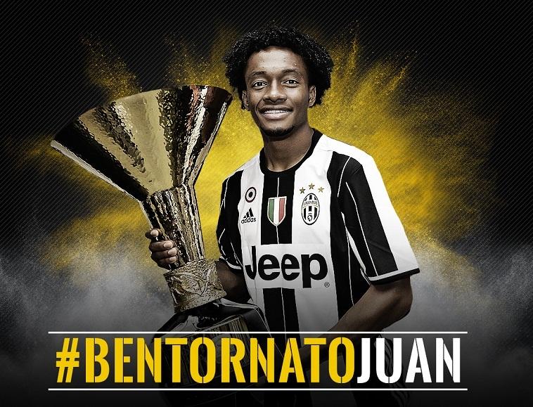 Juan Cuadrado trở lại Juventus
