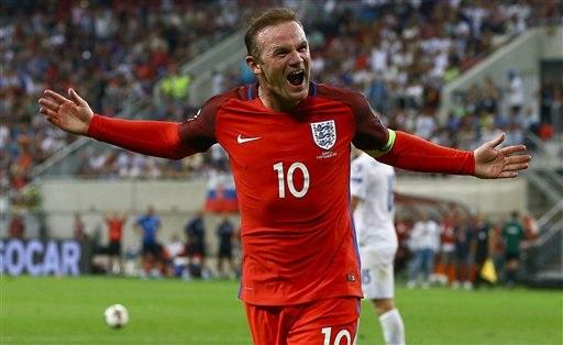 Wayne Rooney trở thành cầu thủ có số lần khoác áo đội tuyển Anh nhiều thứ 2 trong lịch sử