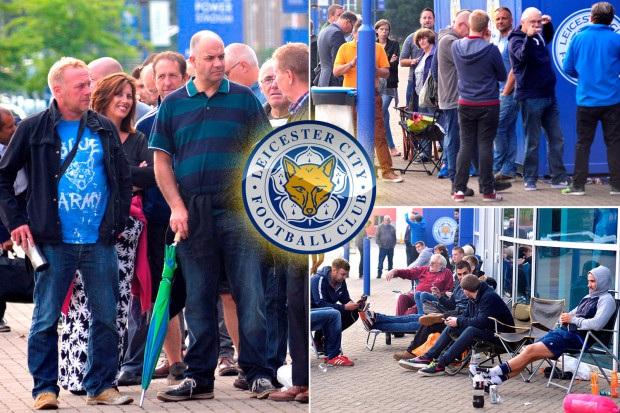CĐV Leicester City không thể chờ đợi hơn để theo dõi trận đấu ở Champions League