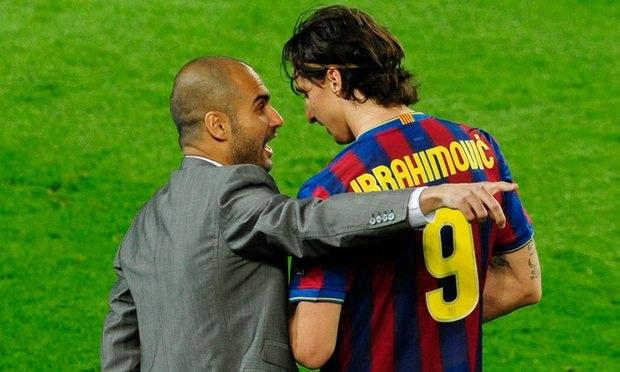 """Guardiola và Ibrahimovic """"thổi bùng lửa chiến"""" ở derby Manchester"""