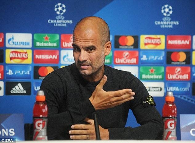 HLV Pep Guardiola chưa tự tin vô địch Premier League và Champions League