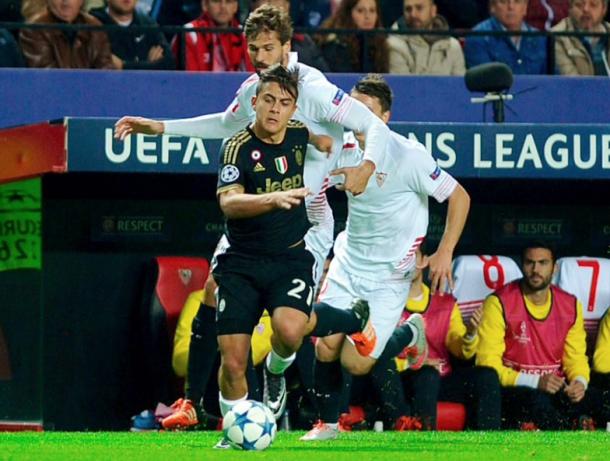 Trận thua trước Sevilla mùa giải trước khiến Juventus mất ngôi đầu bảng