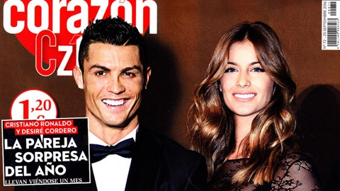 C.Ronaldo hẹn hò với cựu Hoa hậu Tây Ban Nha, Desire Cordero