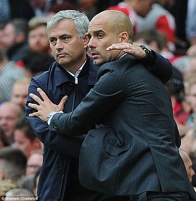 Pep Guardiola và Mourinho sẽ chạm trán ở League Cup